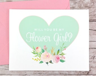 Will You Be My Flower Girl Card (FPS0008)