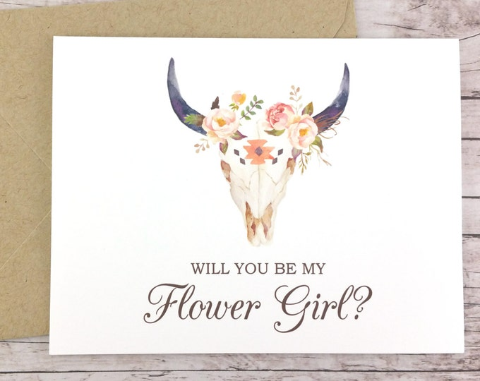 Will You Be My Flower Girl Card (FPS0010)