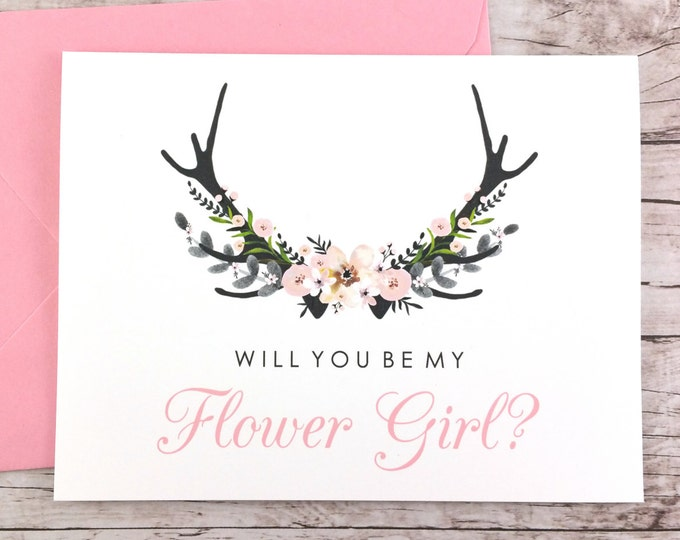 Will You Be My Flower Girl Card (FPS0024)