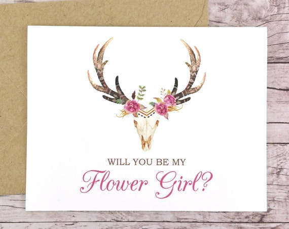 Will You Be My Flower Girl Card (FPS0044)