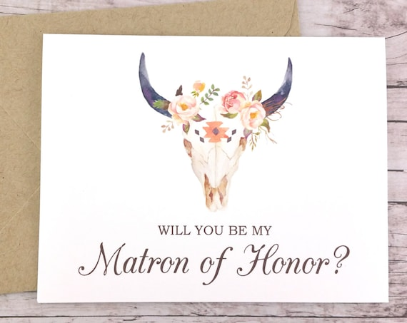 Will You Be My Matron of Honor Card (FPS0010)