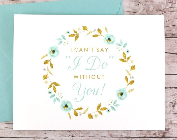 I Can't Say I Do Without You Card (FPS0034)