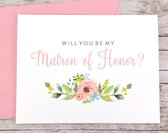 Will You Be My Matron of Honor Card (FPS0013)