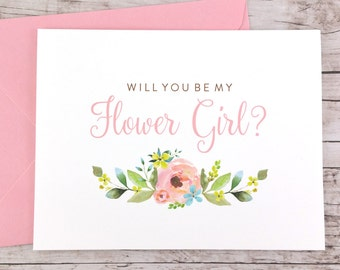 Will You Be My Flower Girl Card (FPS0013)