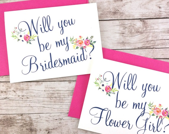 Will You Be My Bridesmaid Card (FPS0037)