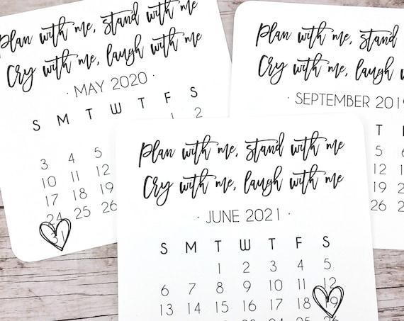 Bridesmaid Proposal Calendar (FPS00C2)