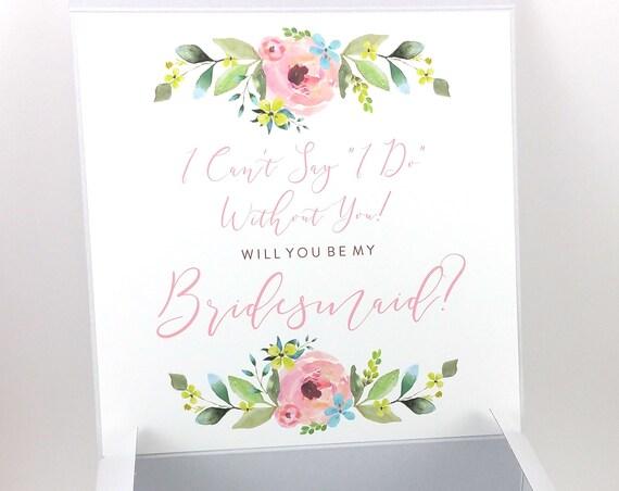 Bridesmaid Proposal Box (FPSBP02)