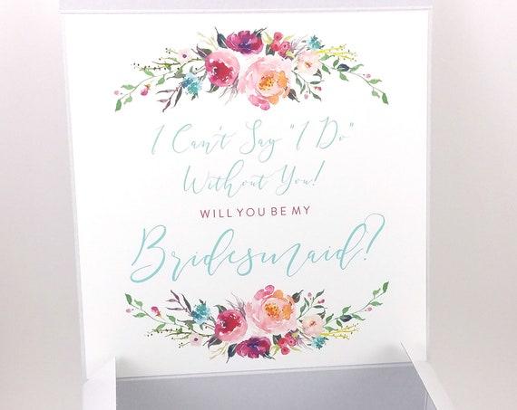 Bridesmaid Proposal Box (FPSBP04)