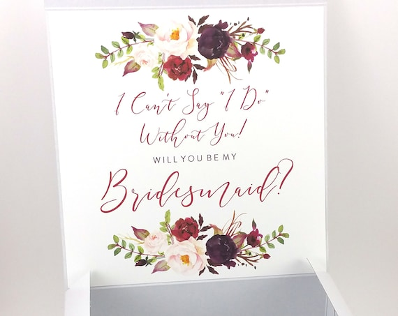 Bridesmaid Proposal Box (FPSBP06)