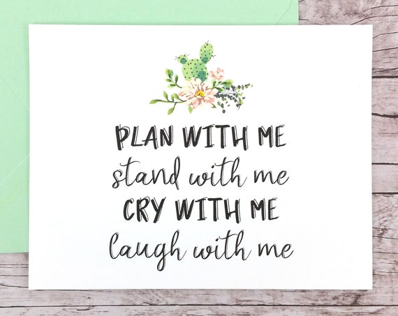 Plan With Me Stand With Me Card (FPS0065)