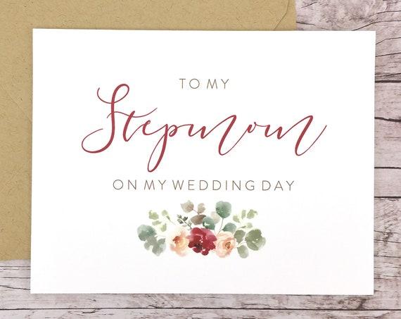 To My Stepmom On My Wedding Day Card (FPS0066)