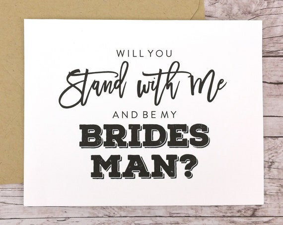 Will You Be My Bridesman Card (FPS0067)