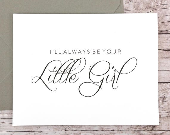 I'll Always Be Your Little Girl Card (FPS0058)