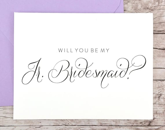 Will You Be My Jr. Bridesmaid Card (FPS0058)