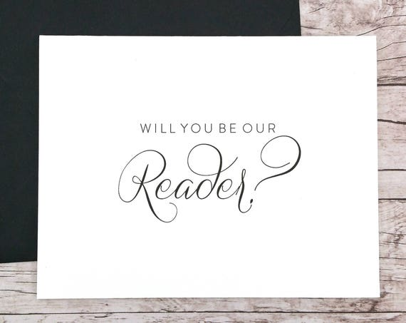 Will You Be Our Reader Card (FPS0058)