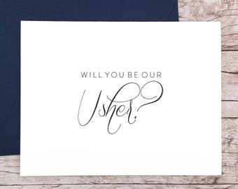 Will You Be Our Usher Card (FPS0058)