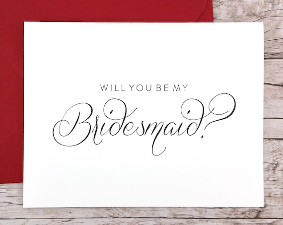 Will You Be My Bridesmaid Card (FPS0058)