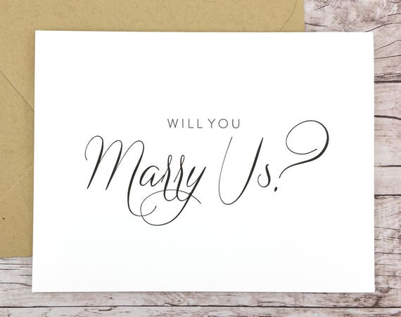 Will You Marry Us Card (FPS0058)