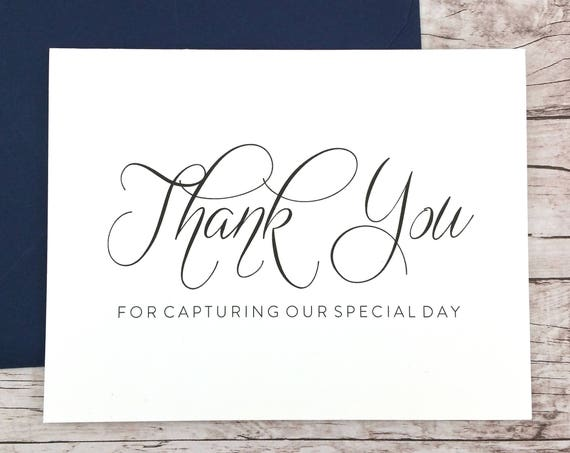 Thank You For Capturing Our Special Day Card (FPS0058)