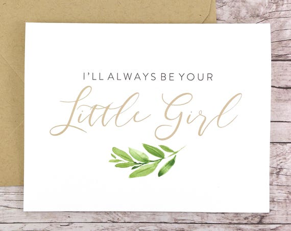 I'll Always Be Your Little Girl Card (FPS0060)