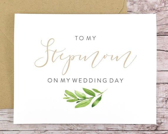 To My Stepmom On My Wedding Day Card (FPS0060)