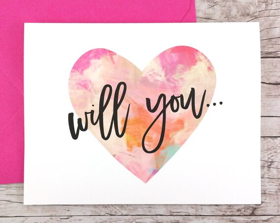 Will You Be My Bridesmaid Card (FPS0035)
