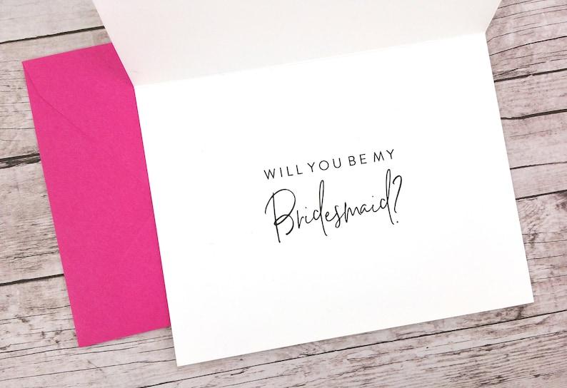 Sister Bridesmaid Card - Will You Be My Bridesmaid Card FPS0069 Sisters Forever Bridesmaid Card Bridesmaid Proposal Card