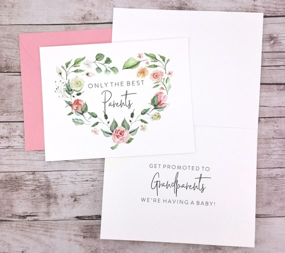 Only the Best Parents Get Promoted to Grandparents Card (FPSPA02)