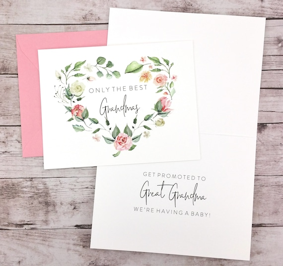 Only the Best Grandmas Get Promoted to Great Grandma Card (FPSPA02)