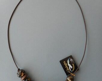 Leopard necklace