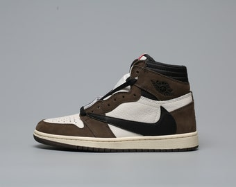 049d71fa7f Nike x Travis Scott Air Jordan 1, Brand New, with box and laces. Top  Quality 1:1 custom