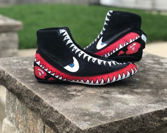 e7d4db2a5 Nike wrestling shoes low
