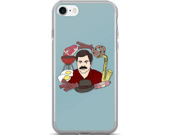 Ron Swanson iPhone 7/7 Plus Case