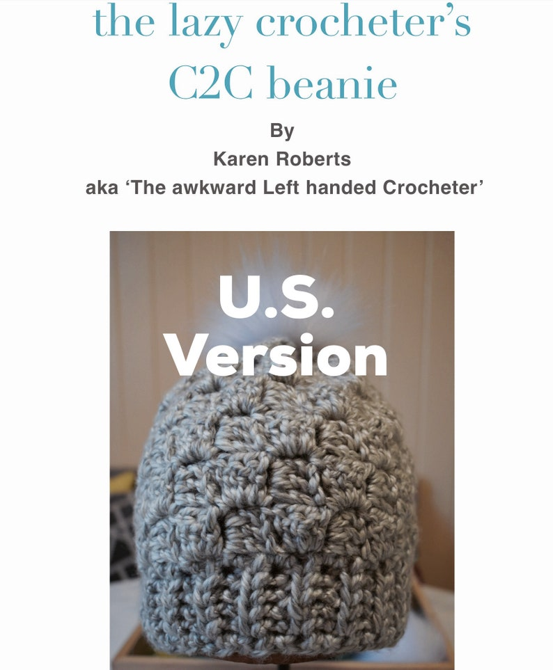 version C2C Beanie Pattern U.S