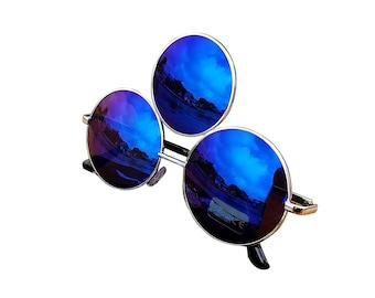 Third Eye Sunglasses BLUE, Ships Same Day!
