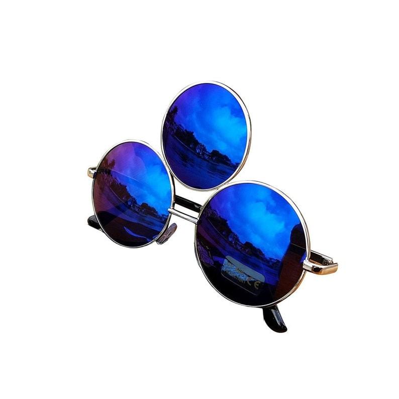 Third Eye Sunglasses BLUE Ships Same Day image 0