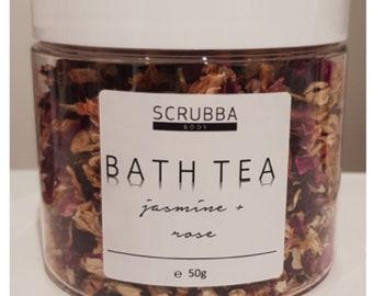 Jasmine + Rose Bath Tea
