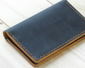 Credit Card Wallet Minimalist Holder Slim Man Wallet Corporate Gift Card Wallet Personalized Pocket Leather Wallet