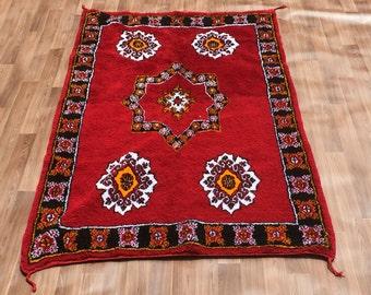 Yacoub Moroccan Wool Rugs 142cm X 267cm