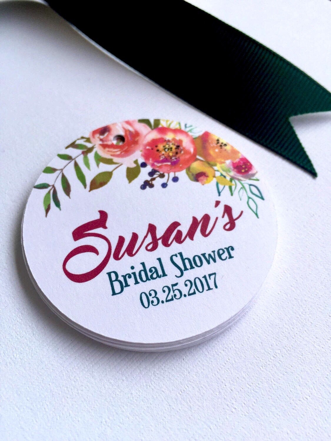 Custom Wedding Favors Floral Wedding Stickers Stickers For Favors