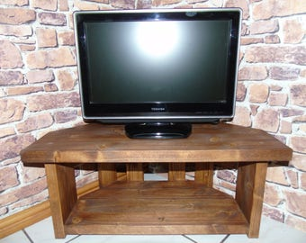 BRAND NEW Handmade Rustic Wooden TV Stand - Many Colours and Sizes!