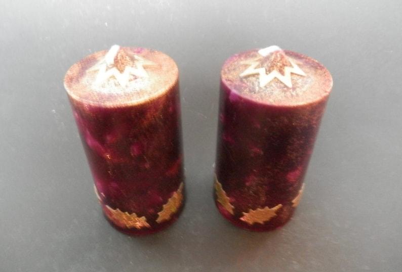Decorare Candele Di Natale : Candele di natale candela pilastro decorazione di natale etsy