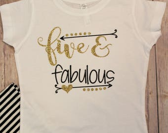 Five Birthday Shirt, Fifth Birthday  Shirt, 5th Birthday Shirt, Gold Birthday Shirt, Fifth Birthday, 5th Birthday, Birthday Shirts,