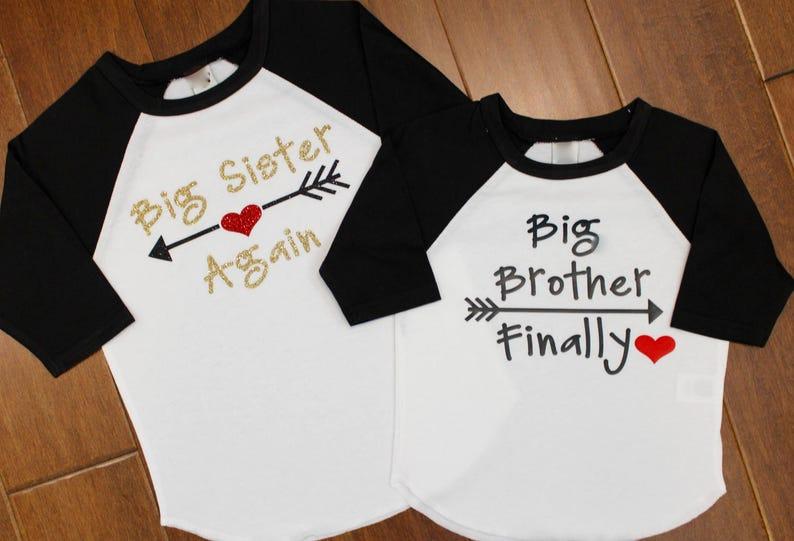 Big Sister Shirt Big Sister Again Big Sister At Last Big image 0