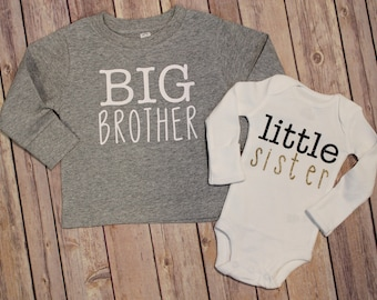 Big brother shirt, Big sister shirt, Little brother shirt, New Baby Shirt, big sister shirt, little sister shirt, big brother shirt,