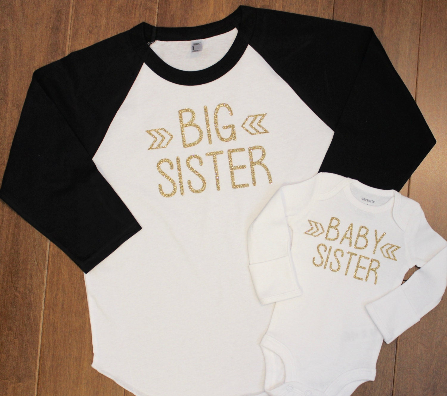 1adc096417f1 Carters Big Sister Little Sister Shirts - DREAMWORKS