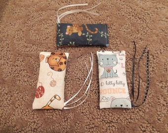 Small Catnip Toy - 3 Pack