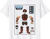 marvel legends series juggernaut build a figure anatomy t shirt
