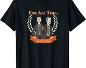 marvel loki and mobius for all time always t shirt
