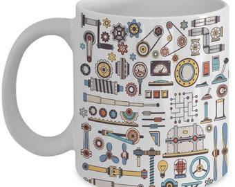Steampunk Spare Parts Mug
